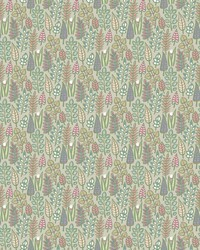 Leaf Life Wallpaper Taupe by