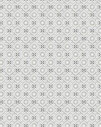 Zellige Tile Wallpaper Gray by