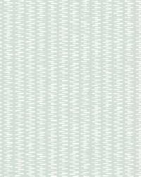 Stacked Stripe Wallpaper Mint Green by