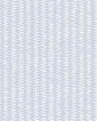 Stacked Stripe Wallpaper Sky Blue by