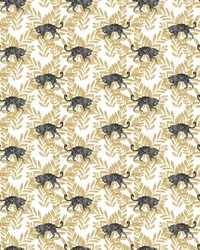 On The Prowl Wallpaper Gold by