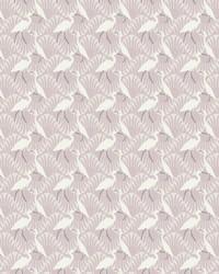 Evening Egret Wallpaper Purple by