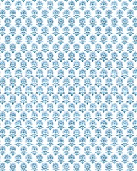 Petite Fleur Wallpaper Blue by