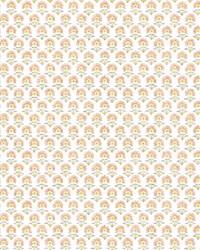 Petite Fleur Wallpaper Peach   Yellow by