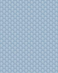 Fan Dance Wallpaper Blue by
