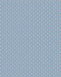 Circle Mosaic Wallpaper Blue by