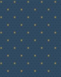 Stella Star Wallpaper Navy by