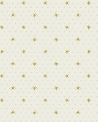 Stella Star Wallpaper Off White  by