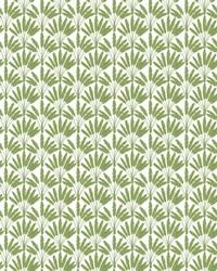 Frond Fan Wallpaper Green by