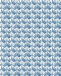 Frond Fan Wallpaper Blue by
