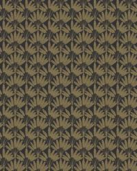 Frond Fan Wallpaper Black by