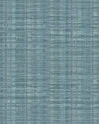 Broken Boucle Stripe Wallpaper Blue by