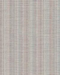 Broken Boucle Stripe Wallpaper Beige Red Blue by