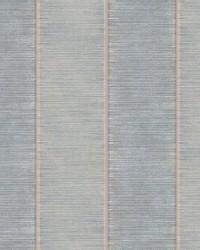 Southwest Stripe Wallpaper Blue Beige by