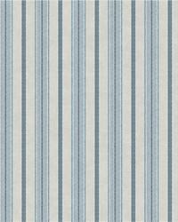 Shirting Stripe Wallpaper Blue Putty by