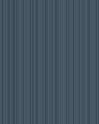 Cascade Stria Wallpaper Navy by