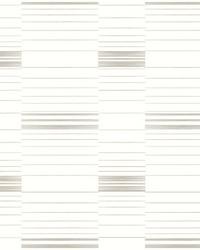 Dashing Stripe Wallpaper Beige White by