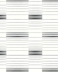 Dashing Stripe Wallpaper Black White by