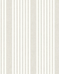French Linen Stripe Wallpaper Soft Linen by