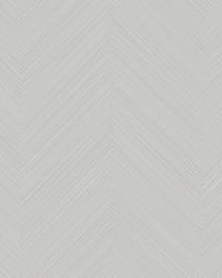 Swept Chevron Wallpaper Gray by