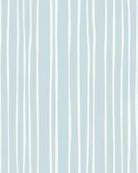 Liquid Lineation Wallpaper Blue by