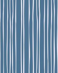 Liquid Lineation Wallpaper Cobalt by