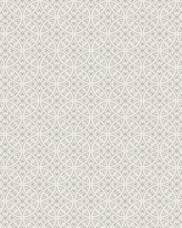 Lacey Circle Geo Wallpaper Gray by