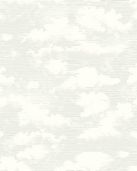 Cloud Cover Wallpaper Gray by