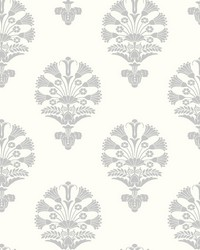 Luxor Wallpaper Gray by