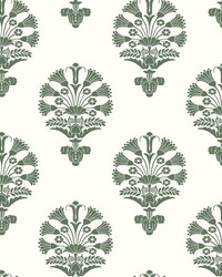 Luxor Wallpaper Green by