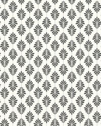 Leaflet Wallpaper Black White by