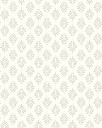 Leaflet Wallpaper Taupe by