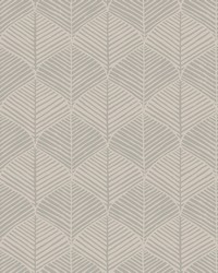 Palm Thatch Wallpaper Taupe Gray by