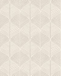 Palm Thatch Wallpaper Gray by