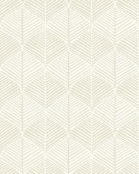 Palm Thatch Wallpaper Taupe by