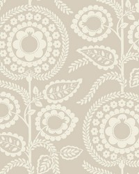 Pomegranate Bloom Wallpaper Off White by
