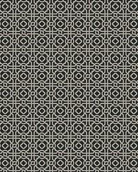Pergola Lattice Wallpaper Black Taupe by