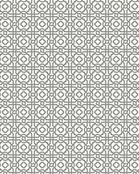 Pergola Lattice Wallpaper Slate by