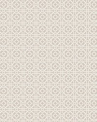 Pergola Lattice Wallpaper Taupe by