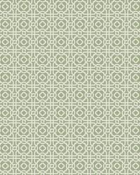 Pergola Lattice Wallpaper Green by