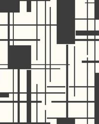 Piet Wallpaper  Blacks by