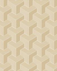 Hexahedron Wallpaper  Metallics by