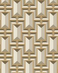 Facet Geo Wallpaper  Metallics by