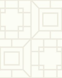 Theorem Wallpaper  White Off Whites by