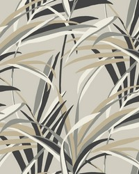 Tropical Paradise Wallpaper Taupe by