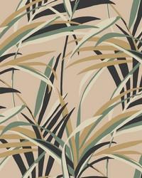 Tropical Paradise Wallpaper Blush by