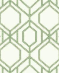Sawgrass Trellis Wallpaper Green by