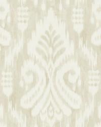 Hawthorne Ikat Wallpaper Beige by