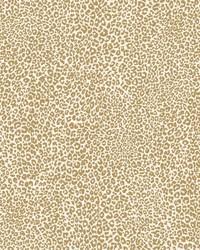 Leopard King Wallpaper Gold by