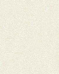 Leopard King Wallpaper Cream by